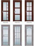 Konkurrenzfähiger Preis-Aluminiumglasflügelfenster-Tür für Toilette/Badezimmer/Küche (ACD-002)