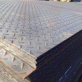 A36 de acero suave de la placa de cuadros para decoración y antideslizamiento (CZ-P53)