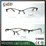 Nuevo modelo de metal de la mujer gafas de Óptica Gafas Anteojos de marco