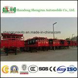 Flachbett-Schlussteil des Shengrun Hersteller-Behälter-Ladung-Transport-LKW-halb 40FT