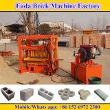 Petite machine hydraulique à moteur diesel semi automatique de bloc concret de la Chine