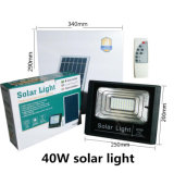 Indicatore luminoso solare del generatore dell'indicatore luminoso di energia solare di comitato dell'indicatore luminoso del giardino dell'inondazione solare solare LED degli indicatori luminosi 40W