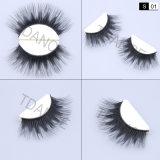 Valse Wimper van het Haar van Lili Beauty de Handmade 3D Synthetische met de Aangepaste Verpakkende Doos van de Wimper