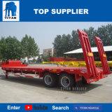 Veículo Titan 2 Eixo Lowboy Truck semi reboque para a Nigéria