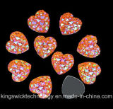 الصين مصنع [ديركت سل] قلب شكل [أب] يخيط لون على [ألّ ستر] راتينج أحجار
