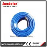"""1/4"""" de l'air en PVC avec raccords de flexible"""