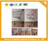 Fabrik-direkter Großverkauf 120 Liter-asiatische Supermarkt-Einkaufen-Laufkatze-Karre mit besserer Qualität