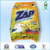 Zap a embalagem detergente 2.5kg do pó de lavagem da lavanderia do tipo