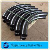 Pipe soudée bout à bout de courbure de l'acier du carbone d'A234 Wpb 3D