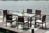 Rattan Party Tables et chaises