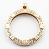 Fábrica Atacado 316L aço inoxidável moda Locket pingente para jóias de presente