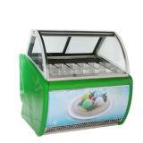 Bandejas de 16 helados Helados Mini/congelador congelador mostrar
