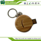 Disco Flash USB de madeira com logotipo Engrave