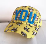 Chapeaux faits sur commande de chapeau de Snapback de coton de loisirs de la broderie 3D