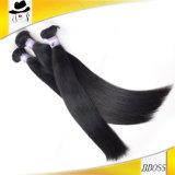 Intégration réelle de cheveu de Peruca de prolonge non transformée de queue de cheval de qualité