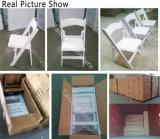 중국 공급자 도매 싼 백색 접는 의자