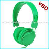 De Hoofdtelefoon van uitstekende kwaliteit met Microfoon en de Controle van het Volume