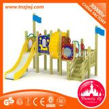 Les enfants d'usine de bois d'équipement de plein air pour la vente de terrain de jeu