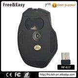 Heiße Spiel-Radioapparat-Maus des Verkaufs-Form-Entwurfs-2.4G 7D ergonomische