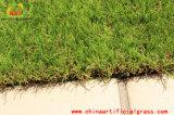 Relvado artificial da grama do jardim profissional decorativo do verde da natureza