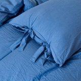 De piedra lavada la ropa de cama 3PC Juego de funda nórdica