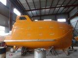 Marítimo barato totalmente fechado Free Fall Life Boat para venda, Barco salva-vidas