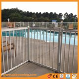 Heißes BAD galvanisierter flache Oberseite-Swimmingpool-Zaun