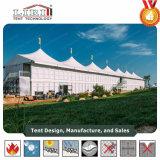 Tenda di alluminio del doppio ponte di Arcum della parete di vetro per gli eventi di golf