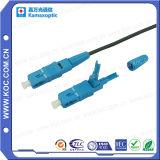 Conector rápido óptico de fibra
