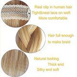 100% Humano Hair Extension Clip en la extensión de Cabello Humano (AV-CH100-20-27/613)