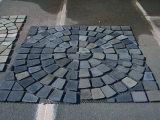 Ardesia di vendita calda del nero del tetto di prezzi di Fatory/fungo di Flagestone per le mattonelle di pavimentazione