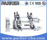 Parker Cer genehmigte Ecktür CNC-quetschverbindenmaschine des aluminiumfenster-vier