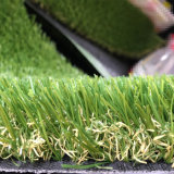 Decoration를 위한 60mm Height 18900 Density Leou10 Landscaping Artificial Grass Carpet Rug