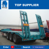 Titan 3 essieux du véhicule Low-Bed semi remorque de camion pour la vente au Kenya