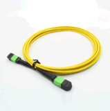 MPO-MPO de fibra óptica monomodo 12cores latiguillo