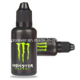 Berufse Flüssigkeit des Monster-Energie-Getränk-mit konkurrenzfähigem Preis für elektronische Zigarette gesunde E-Flüssigkeit Plastikflasche des glas-/Einhorn