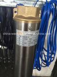 Pompa ad acqua sommergibile del pozzo trivellato del pozzo profondo da 4 pollici, pompa buona profonda elettrica, pompa sommergibile