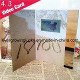 Поздравительная открытка экрана LCD 2.4/2.8/4.3/7.0/10.1 дюймов видео-