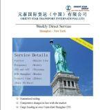 上海からのニューヨーク、Nyへの1人の停止ロジスティクスの提供者