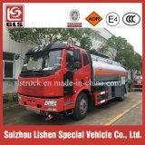 Kapazitäts-Schmieröltank-LKW-Brennstoffaufnahme des FAW Kraftstoff-Tanker-12000L