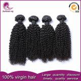Китайский Virgin волосы вьются 100% Реми волос человека