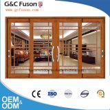Uitstekende kwaliteit met Schuifdeur van het Glas van de Prijs van de Fabriek de Aluminium Aangemaakte