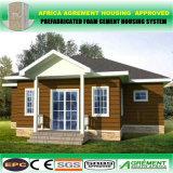 Edificio de la estructura de acero de Windows de dos suelos/oficina prefabricados del centro de formación