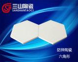 Allumina esagonale Bullletproof di 99% di ceramica (SSTC0047)