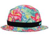 2017 [هيغقوليتي] عصريّة خاصّ بالأزهار دلو قبعة سيدات قبعات