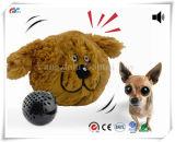 대화식 견면 벨벳 삐걱거리는 개 장난감, 미친 도약자는, 전자 움직임 애완 동물 장난감 를 위한 갑갑증을 방지한다