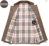 最上質の人のSpring/Autumnの標準的な防風の偶然のジャケット