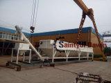 Bajo nivel de silo de cemento transportable con 40t y 100t de capacidad
