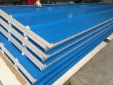 現実的な品質軽量の鋼鉄カラー研修会の工場のための波形EPSサンドイッチパネル