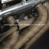 "チタニウム2 "" CarおよびMotorcycleのためのX50FT Exhaust Header Insulating Wrap"
